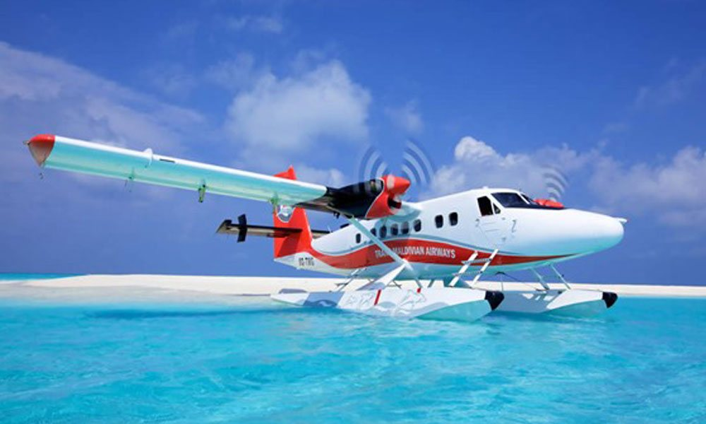 Experience a speedboat or seaplane ride